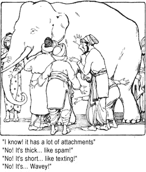 The Wise Developers and the Elephant